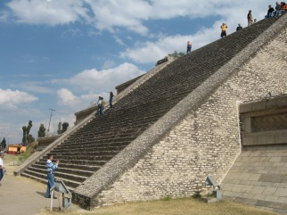 the pyramid at Cholula