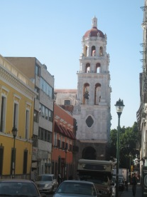 View from hotel room, Puebla MX