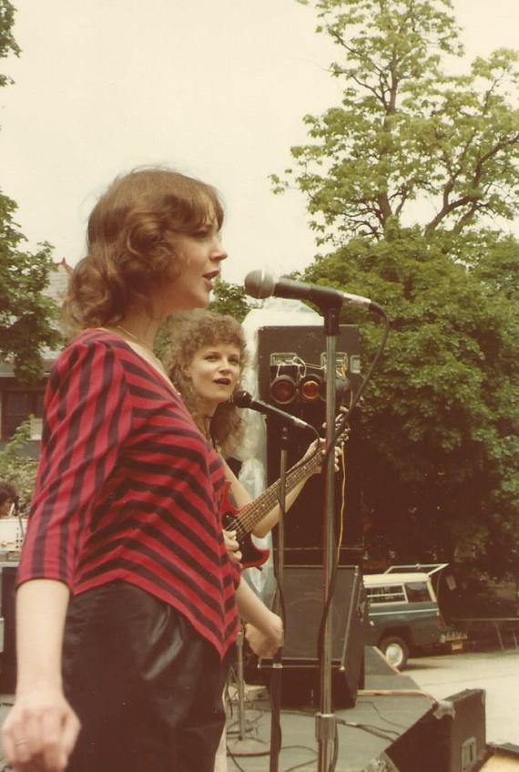 Comfest 82 Mary and me