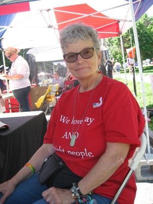 Me at Pride 6/18/16, Columbus Ohio