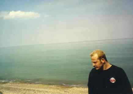 the late Cem Ozcan at the Black Sea 2000