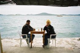 Drinking cay (tea), Cunda Adasi 2006