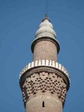 minaret, Bursa, Turkey
