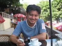Sevket atRumeli Hisari teahouse 2006