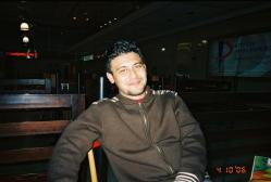 Sevket at the airport April 2006