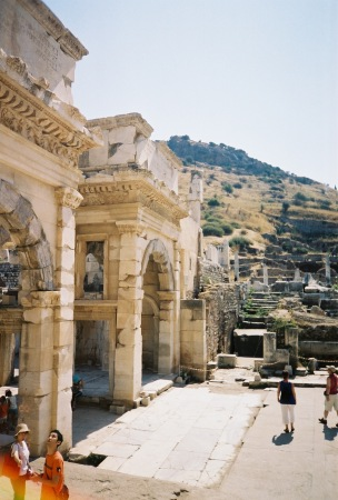 Entrance gates at Efes
