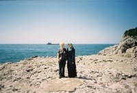 Yasemin and me and the Black Sea