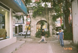 ancient arch in the hood