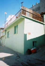 Sevket's parents' house in Soma