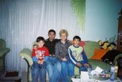 Sevket, his sister's sons, and me