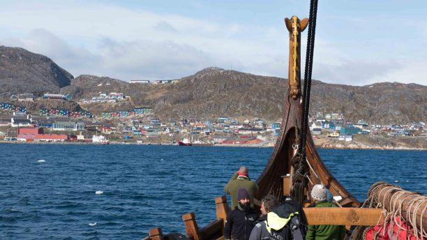 Drakar Harald Harfagre Greenland