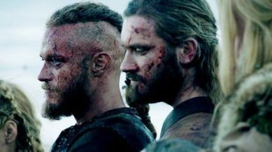 Ragnar and Rollo Lothbrok