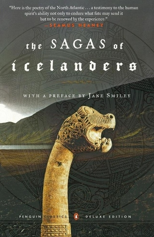 the sagas of Icelanders book cover