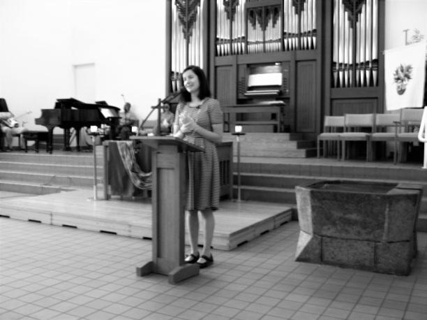 Pastor April Blaine July 24, 2016