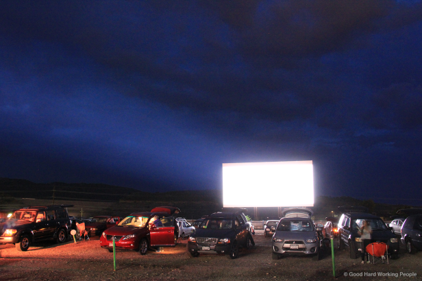 drive-in movie theater (2)