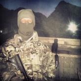 Jason in Afghanistan ninja shot