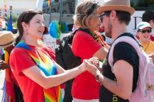Pastor April at Pride 2016