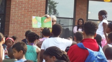 Read-aloud guest Freedom School July 22, 2016, Our Twitchy