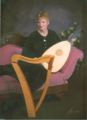 My Celtic harp and new lute