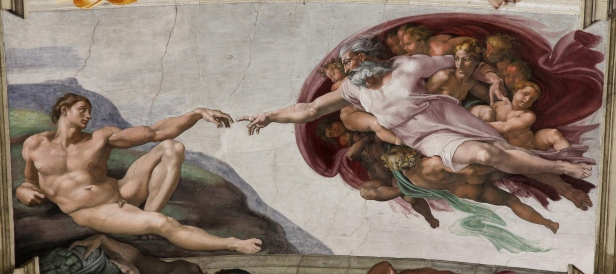The Creation of Adam, Michelangelo, Sistine Chapel