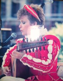 Me at Columbus Arts Festival, c. 1984