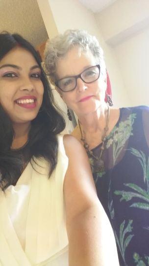 Juhi and me