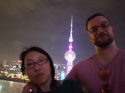 Summer and Nick, Shanghai 2016