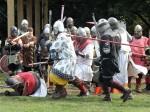 a warrior slain