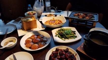 Dinner, fancy Beijing restaurant