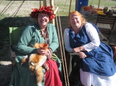 Janet VanMeter and friend, Rose Tourney 10/16