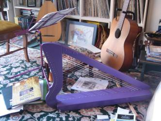 my Flatsicle harp