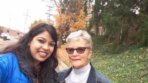 Nov. 2016 with Juhi