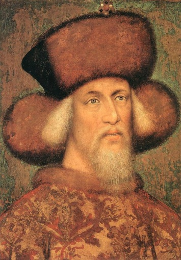 emperor with great hat