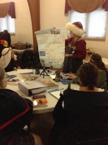 Teaching Viking Women, Jan. 2017