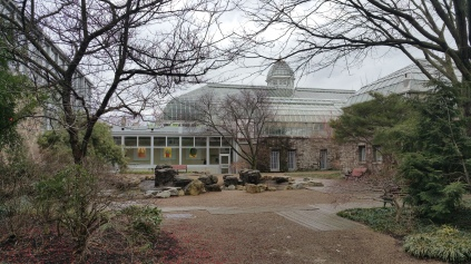 Bonsai courtyard, Franklin Park Conservatory