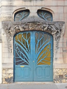 Art Nouveau door from France, 1903