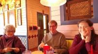 Slan, Dan and me ,after Vikings Show, Feb. 2017