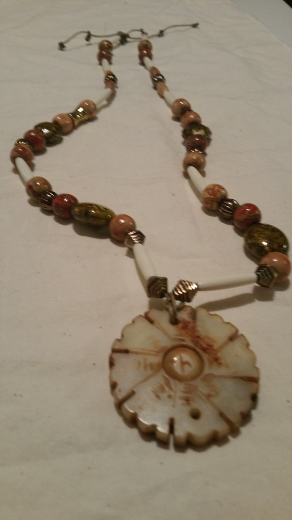 Janet VanMeter's Pennsic 46 necklace