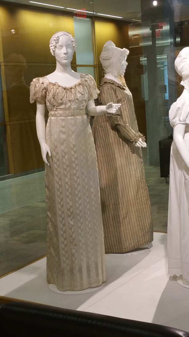 Jane Austen evening gown
