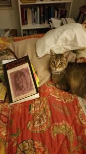 Sissy and Icelandic Saga textbook, Sept. 2017