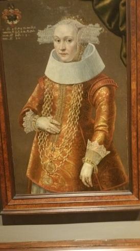 """Portrait of a Daughter of Dieterich Bromsen"" (Dutch, ca. 1638) Michael Conrad Hirt"