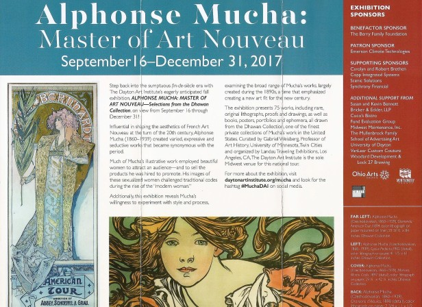 Mucha show brochure cropped and enhanced back page