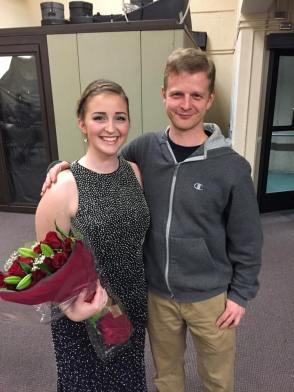 Jason and cousin Anna May 2017