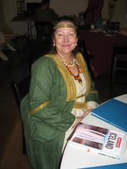 Janet at Middle Marches Baronial 12th Night 2017