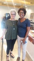 Lisa McLymont and me