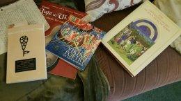 Three books I got this weekend...