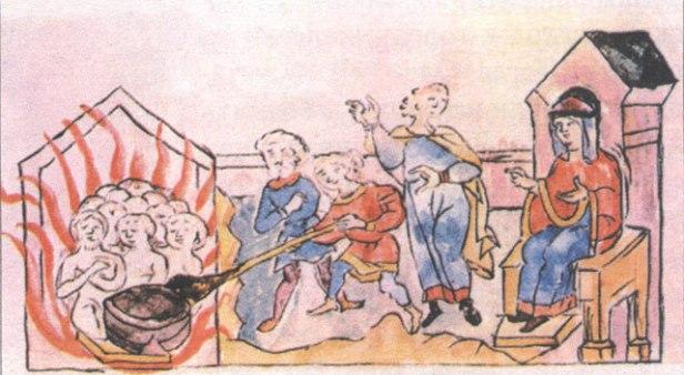 Месть_княгини_Ольги olga burning delegation