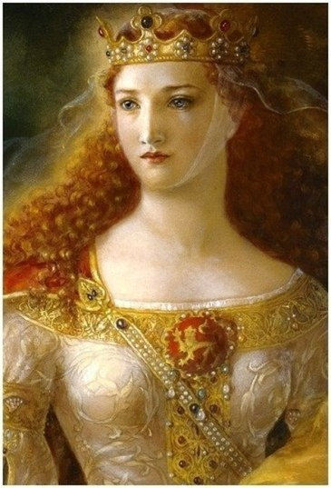 Eleanor of Aquitaine, Image attribution: https://jungiangenealogy.weebly.com/eleanor-of-aquitaine.html