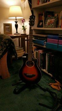 My little Yamaha travel guitar