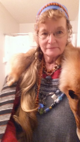 wearing fox skin 2018